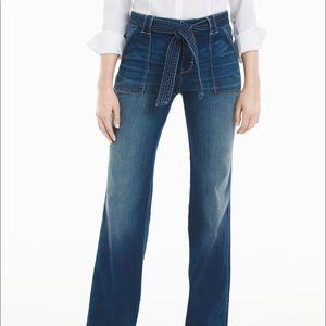 WHBM- Tie Waist Trouser Jeans